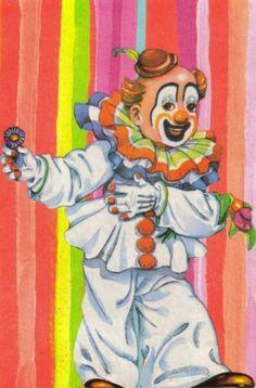 Original Collage Art Clown | by dadadreams (Michelle Lanter)