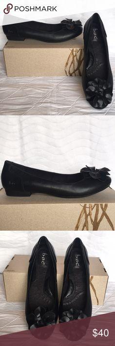 24b520597 Womens B.O.C Black Flower 🌸Flat Shoes 🥿 Sz 9.5 M NWOT OR NO BOX Women s