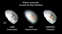 The most jaw-dropping photos captured by NASA's New Horizons spacecraft during its July Pluto flyby depict the dwarf planet or its largest moon, Charon. But newly released images suggest that Pluto's four tiny moons are plenty interesting, too.