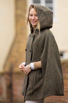 Hepburn Earth Hooded | Cocoon Luxury Wear