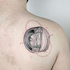 Diagram of a camera lens done by Alex Richardson @ The Village Ink Toronto