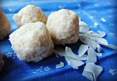cold pressed organic coconut oil balls