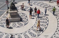 Calçada Portuguesa| Rossio, Lisboa