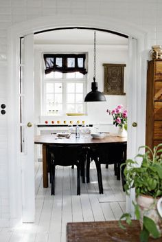 This lovely room from a Coppenhagen home - House of Earnest