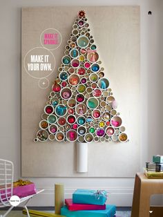 Different Xmas tree for wall