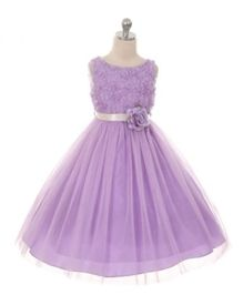 Chantal Special Occasion Dress - LILAC