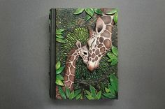 "Mandarin Duck: Giraffe Journal ""Mother's Love"" by Aniko Kolesnikova (Mandarin Duck)"
