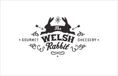 * * the welsh rabbit / / identity + business card