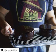 #Repost @jasonlicker with @repostapp @bakelikeapro  WAKE UP WORLD!  Led Zep  Strong Coffee  Perfectly Glazed Cakes = Amazing Morning in Lickerland . Order a copy of The James Beard Nominated Lickerland on Amazon: http://ift.tt/2kKq7t5 . BUT if you want it signed by me purchase it here: . Www.JasonLicker.com . #chefstalk #chefsofinstagram  #dessertmasters #TheArtOfPlating #gastroart #pastry_inspiration #truecooks #foodporn #foodpornshare #hk  #hkig #hk foodie #foodstarz #foodartchefs…