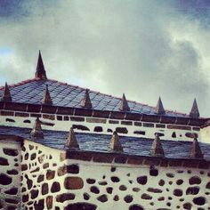 #slateroof at #SanAndresDeTeixido #riasaltas #galicia #myth #celts #pagan #christian #church
