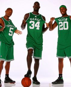 Great to watch Ray Allen, Kevin Garnett & Paul Pierce, just not in the same game anymore