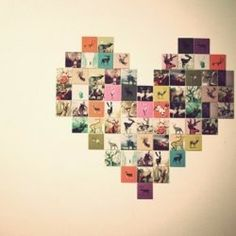 18. DIY #Photo Collage - 34 DIY Dorm Room Decor #Projects to Spice up Your Room ... → DIY #Decor