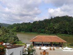 A river by Kandy city at Sri Lanka