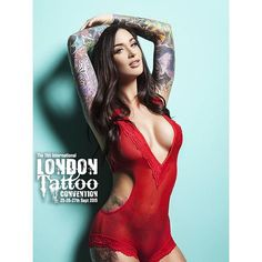 """See you in London!  Photo by @christiansaintphoto  @londontattooconvention"""