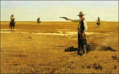Surrounded, by Robert McGinnis