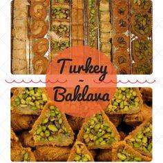 Turkey – Baklava