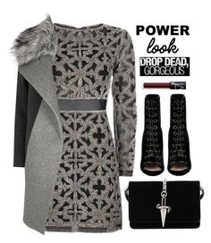 """""""Drop Dead Gorgeous"""" by cara-mia-mon-cher ❤ liked on Polyvore featuring Topshop, Barbara Bui, River Island, Cesare Paciotti and NARS Cosmetics"""