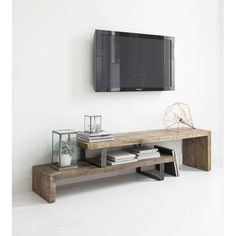 20 Best DIY Entertainment Center Design Ideas For Living Room – TV Stands – Ideas of TV Stands – More ideas below: DIY Pallet Entertainment center Ideas Built In Entertainment center Plans Floating Entertainment center Decor Rustic Entert Ikea Tv Stand, Diy Tv Stand, Tv Stand On Wall, Floating Tv Stand Ikea, Floating Tv Console, Metal Tv Stand, Pallet Entertainment Centers, Industrial Entertainment Center, Industrial Tv Stand