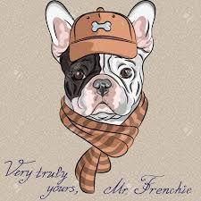 Resultado de imagen para dibujos de bulldog frances
