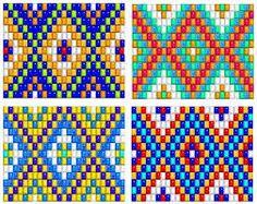 Resultado de imagen para pulseras de chaquira diseños