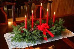 Фото: Новогодний интерьер в год Красной Огненной Обезьяны (Фото)