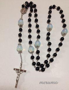 Catholic Jewelry, Rosary Catholic, Morganite Engagement, Rose Gold Engagement Ring, Rosary Beads, Crucifix, Beaded Bracelets, Drop Earrings, Creema