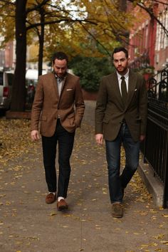 ivy-league-style: Ariel and Shimon Ovadia, from Ovadia & Sons