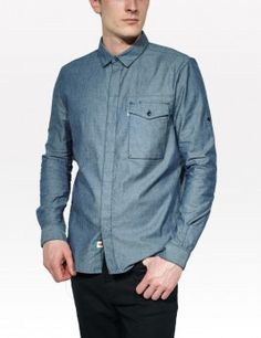 COMMUTER SHIRT CHAMBRAY Style :  #65079-0001 Rs 2,800.00