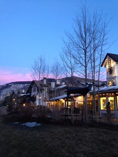 Sunset in Vail Colorado