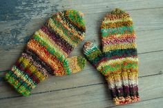 the girlfriend's mittens by knitting school dropout, via Flickr