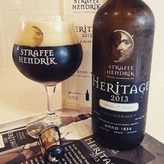 Straffe Hendrik Heritage 2013  #beer #craftbeer #dark