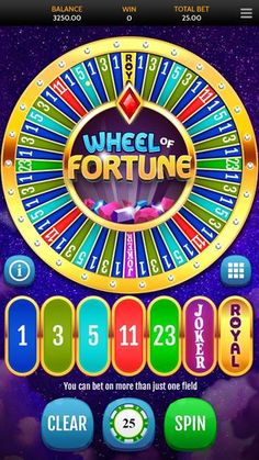 OneTouch rolls out Wheel of Fortune - Return to Player Wheel Of Fortune, First Game, Casino Games, Table Games, Slot, Rolls, Layout, Content, Colours