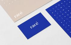 Racé - branding / identity for a French wool fashion brand by Weidemuller - graphic design / stationery