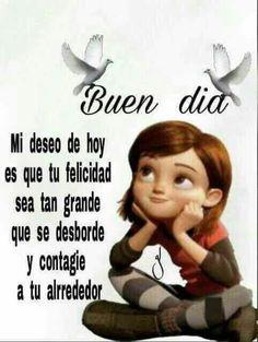 Cute Good Morning Quotes, Good Morning Beautiful Images, Good Morning Messages, Good Morning Good Night, Good Morning In Spanish, Mafalda Quotes, Spanish Greetings, Morning Greetings Quotes, Love Phrases