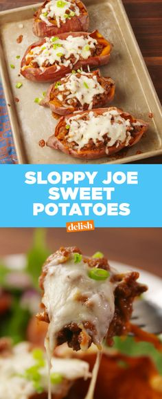 Sloppy Joe Sweet Potatoes