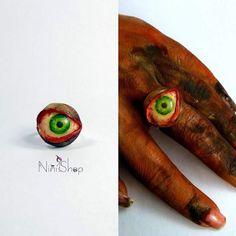The eye ring for Halloween