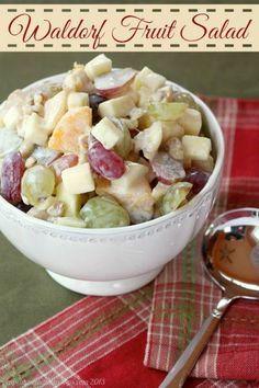 Waldorf Fruit Salad