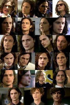 Matthew Gray Gubler...i actually know the episode of most of these too......