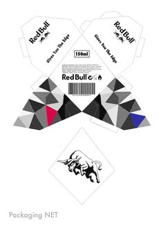Red Bull Aftershave Bottle by Kieran Burr at Coroflot.com