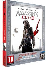 Assassin's Creed (Édition Limitée Amazon.fr Blu-ray 3D + Blu-ray 2D + jeu PS4) - Blu-ray 3D