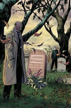 Horror Comic Book News - Comic Monsters - The making of Halloween - by Jeff Zornow Slasher Movies, Horror Movie Characters, Best Horror Movies, Classic Horror Movies, Horror Films, Scary Movies, Horror Art, Ghost Movies, Films D' Halloween