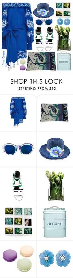 """Siple  Love"" by barbarela11 ❤ liked on Polyvore featuring Yuliya Magdych, Emilio Pucci, Linda Farrow, Chicnova Fashion, Pierre Hardy, LSA International, Kitchen Craft and Ladurée"