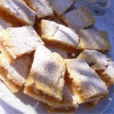 141644_2 Hungarian Desserts, Hungarian Recipes, Sweet Desserts, No Bake Desserts, Dessert Recipes, Diabetic Recipes, Cooking Recipes, Baking Muffins, Christmas Baking