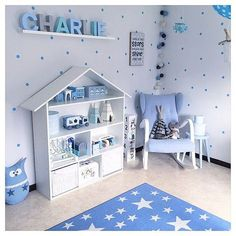 The best blue decor inspirations for you! Have the time of your life decorating with the younger ones! Discover more inspirations at www.circu.net