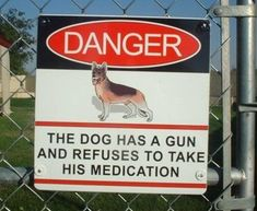 The Funniest Warning Signs Ever (20 PICTURES)