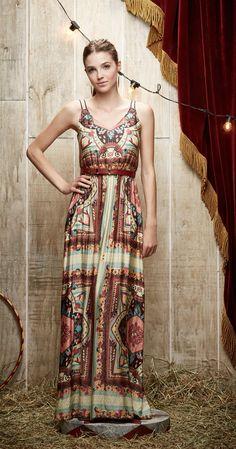 Vestido Longo Tenda | Vestuário | Antix Store