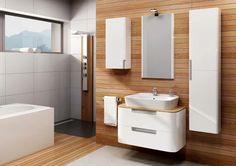 Wyposażenie - Białe meble – modne szafki do łazienki  | Łazienka.pl