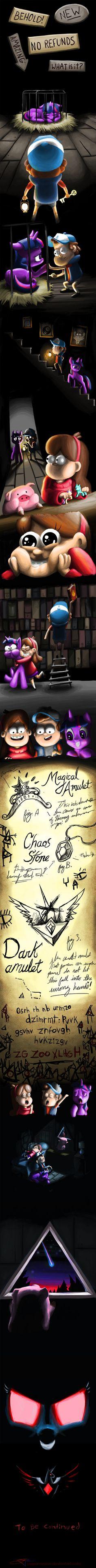 Magical Mystery Shack - PART 2 by JayParmesan.deviantart.com on @deviantART