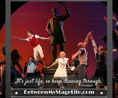 When all else fails, just start dancing. #justdance #wicked #danceyourassoff http://BetweenMyStageLife.com