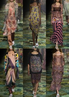 Pixelated Pattern– Contrasting Boarders– Rich Oriental Carpets– Bright Accents– Bias Stripes– Eclectic Embroidery dries